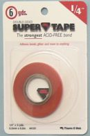 Click Here To View Double Sided Super Tape - Quarter Inch X 5.4m