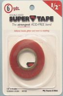 Click Here To View Double Sided Super Tape -  Half Inch X 5.4m