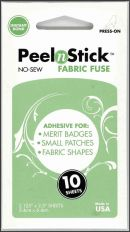 Click Here To View Peel N Stick Fabric Fuse - Instant Bond X 10 Sheets