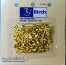 Click Here To View Gilt Safety Pins 100 Pack