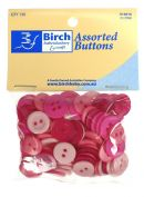 Click Here To View Assorted Buttons - Pink