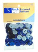 Click Here To View Assorted Buttons - Blue