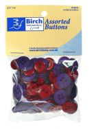 Click Here To View Assorted Buttons - Red And Purple