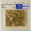 Click Here To View Pins Curved Safety 27mm 100on