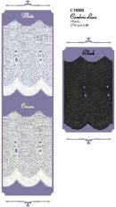 Click Here To View Flat Cambric Lace - 75mm