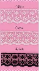 Click Here To View Captivating Nylon Lace - 20mm X 50mt