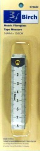 Click Here To View Tape Measure - Metric Fibreglass