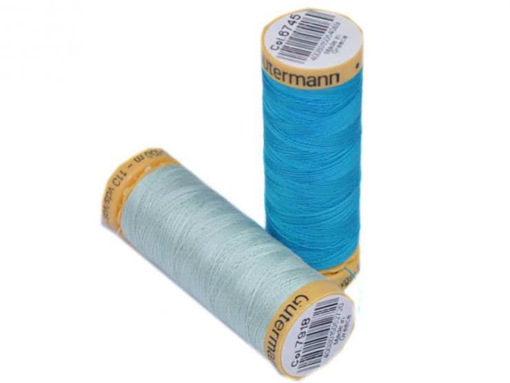 80 Spools x 100m 100/% Cotton Quilting Gutermann Cotton Album Sewing Crafts