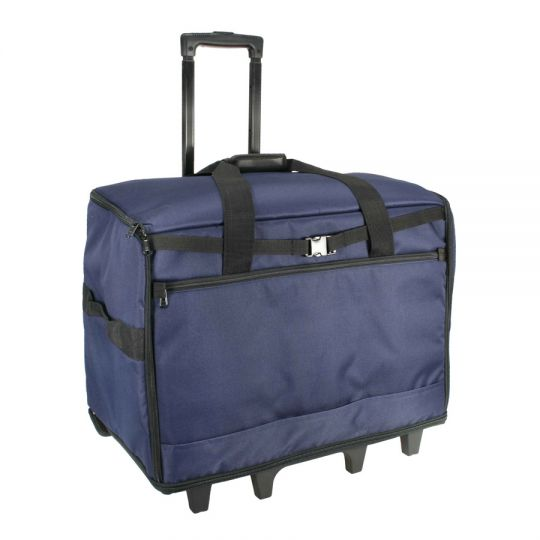 Sewing Machine Trolley Bag Extra Large Navy Sewing