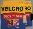 Click Here To View Stick n Sew VELCRO® Brand Fasteners 20mm x 5m